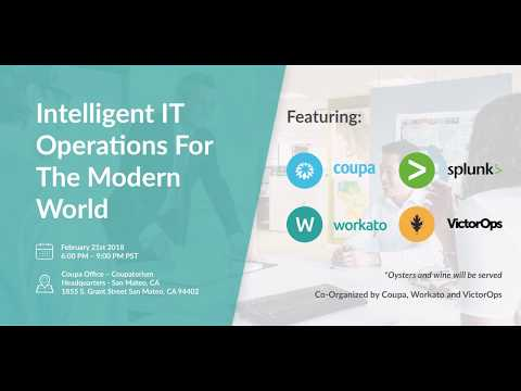 Workato, Coupa, and VictorOps Team Up to Address IT's Role in Driving Digital Transformation