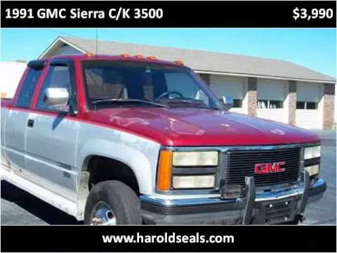 1991 GMC Sierra CK 3500 Used Cars Fayettville TN  YouTube