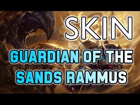 Guardian Of the Sands Rammus Skin Spotlight - [LOL PBE] - Scarabe Egyptien - League Of Legends