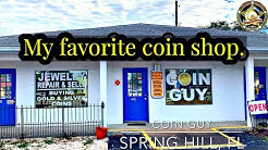 My favorite coin shop. Interview with a coin shop dealer.