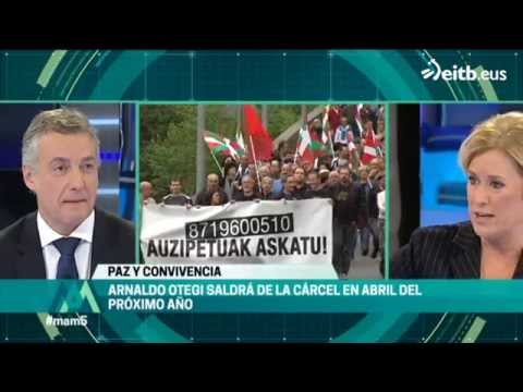 Urkullu: 'Me veo compitiendo contra Otegi por la Lehendakaritza'