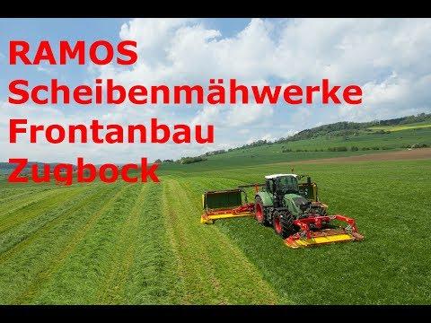 RAMOS Scheibenmähwerke Frontanbau Zugbock