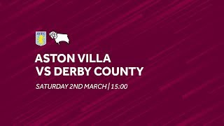 Aston Villa 4-0 Derby County | Extended highlights