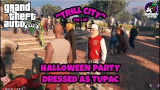 HALLOWEEN PARTY AS TUPAC ON GTA 5 RP (FIVEM) MODS #AYOY