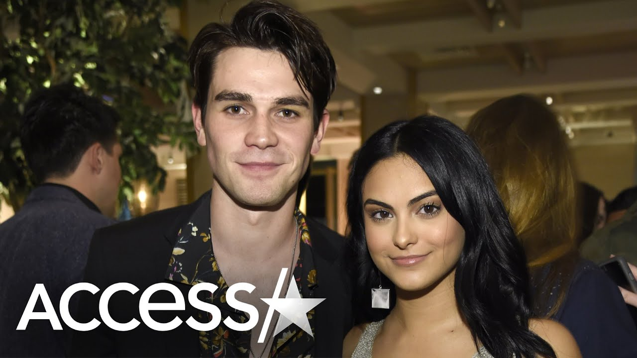 KJ Apa & Camila Mendes' Prep For 'Riverdale' Kissing Scene