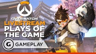 Livestream Plays of the Game - Overwatch Gameplay