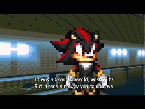 Sonic Adventure 2: ARK Showdown //Sonic vs Shadow\\ [Sprite Animation]