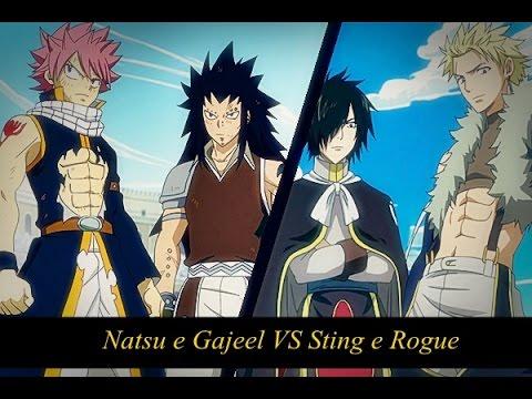 Natsu e Gajeel vs Sting e Rogue -【 AMV 】ᴴᴰ - YouTube