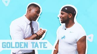 GOLDEN TATE'S BIGGEST CATCH ON CABBIE PRESENTS