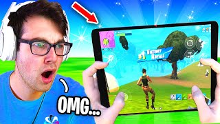 I Hosted a MOBILE PLAYERS ONLY Tournament for $100 in Fortnite... (better than P