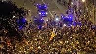 [EN DIRECTO] Sexta noche de protestas en el centro Barcelona
