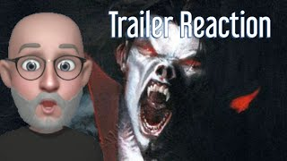 Pastor REACTS to MORBIUS Trailer from Sony Pictures