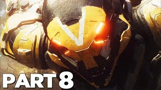 ANTHEM Walkthrough Gameplay Part 8 - TOMBS (Anthem Game)