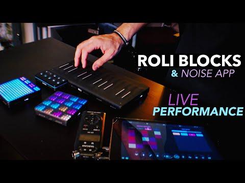 ROLI Blocks & Seaboard Block Live Ambient Dance Performance