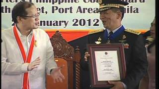 Philippine Coast Guard Change of Command 1/24/2012