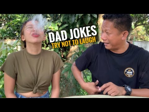 TRY NOT TO LAUGH!! DAD JOKES (Tagalog)   Faye Balbacal