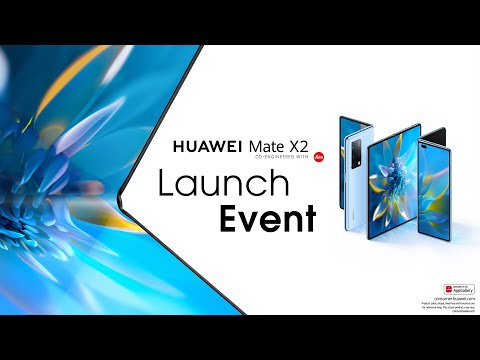 HUAWEI Mate X2 Launch Event