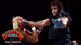 FULL MATCH - Hulk Hogan vs. The Undertaker - WWE Title Match: WWE Survivor Series 1991
