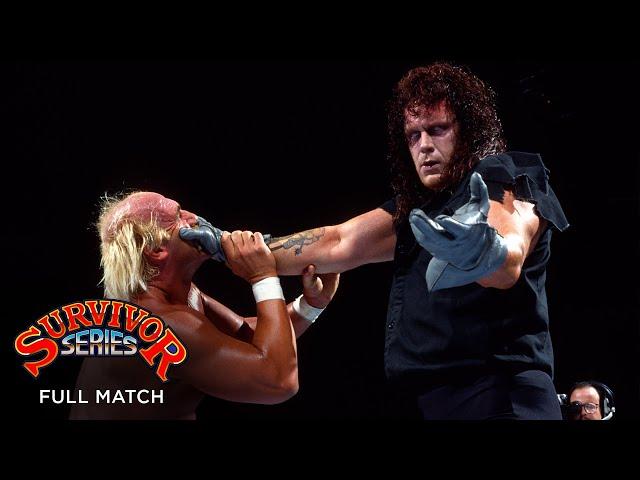 FULL MATCH - Hulk Hogan vs. The Undertaker - WWE Title Match: WWE Survivor Series 1991