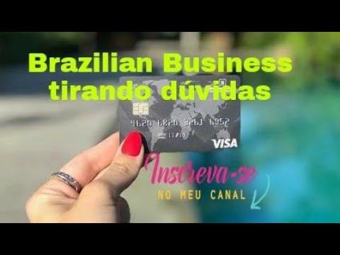 TIRANDO DUVIDAS SOBRE CARTÃO BRAZILIAN BUSINESS (CARTÃO DE DÉBITO)