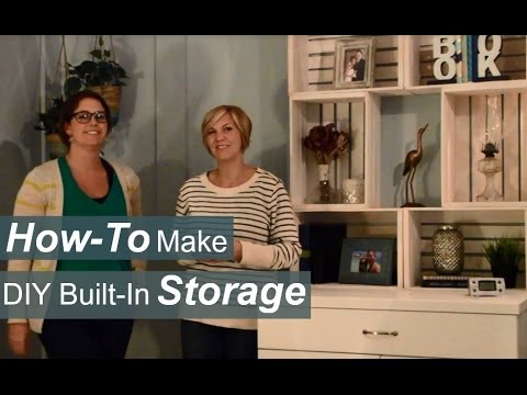 HowTo Make DIY BuiltIn Extra Storage for Your Apartment!