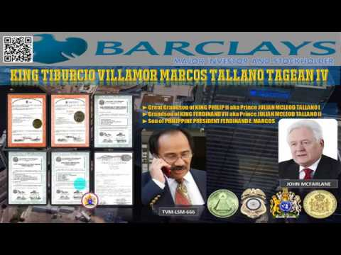URGENT LETTER TO JOHN McFARLANE OF BARCLAYS BANK FROM TVM-LSM-666 !!!