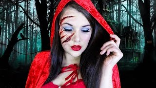 Little Red Riding Hood | Halloween Makeup Tutorial | Cherry Wallis