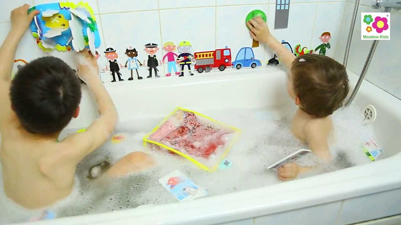 Meadow Kids Bath Time - YouTube