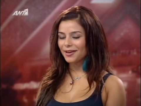 Eleftheria's Eleftheriou 1st Audition @ X-Factor
