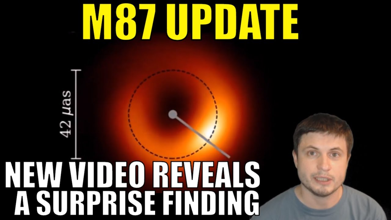 Exciting M87 Black Hole Update: Actual Video and Surprise Observations