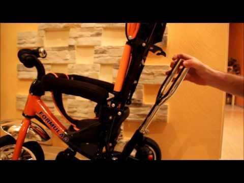 Ремонт рулевого управления детского велосипеда Formual 3