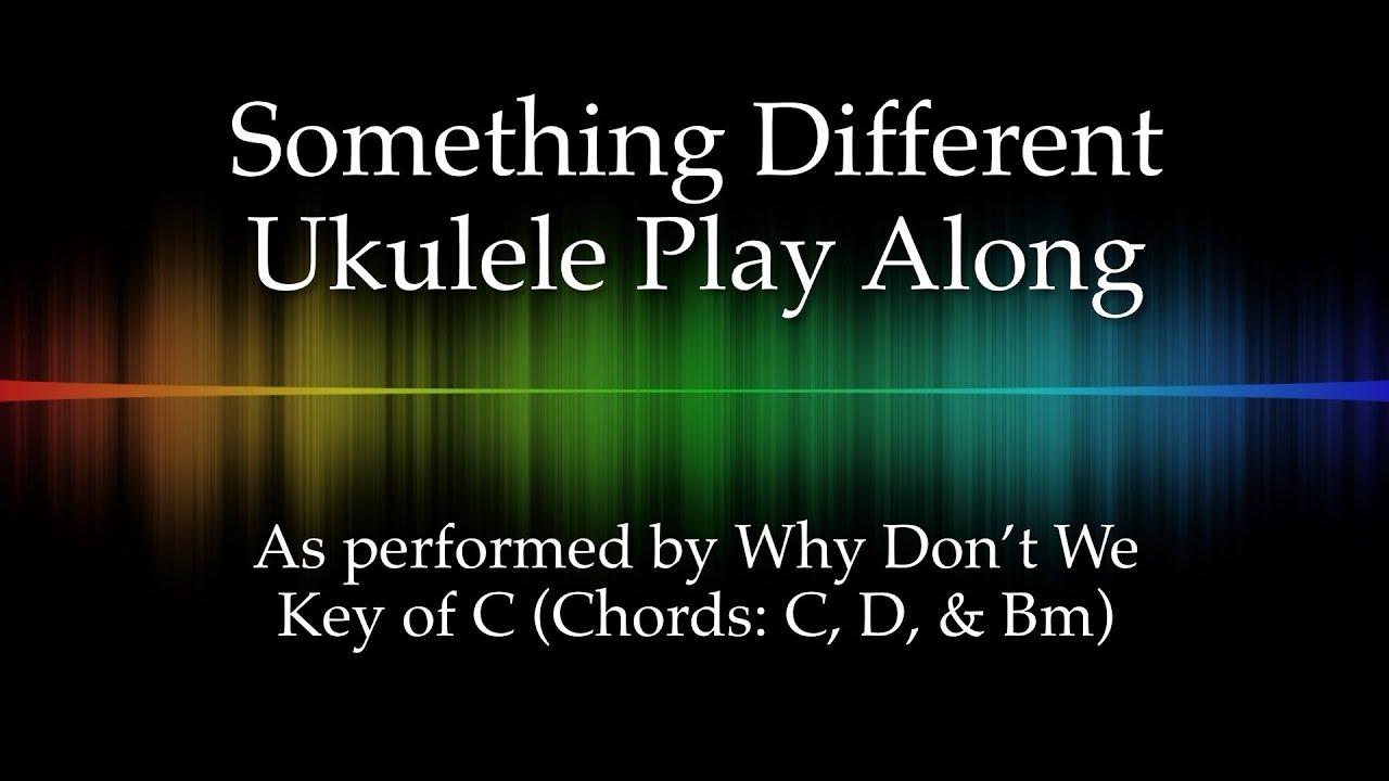 Something different ukulele play along youtube hexwebz Image collections