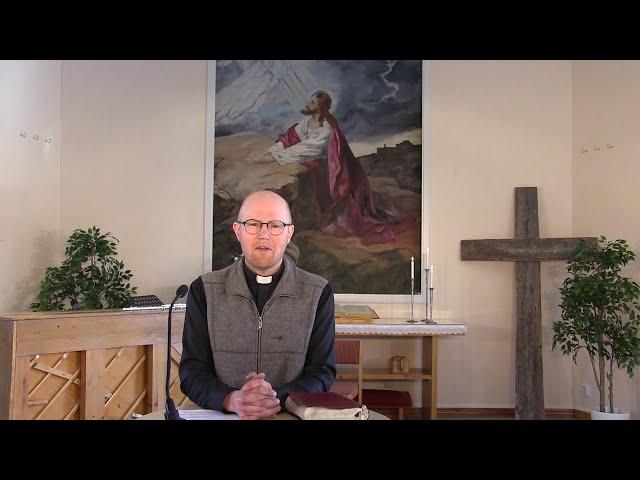 2020-05-17 - Gudstjänst
