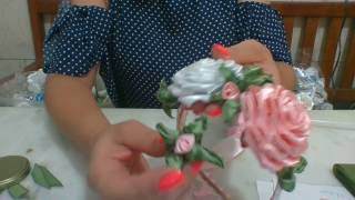 BOTÕES DE ROSA LINDOSS -TUTORIAL Para iniciantes