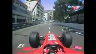 F1 Monaco GP 2004, Michael Schumacher onboard lap