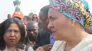 In DR Congo, UN deputy chief pledges commitment to helping displaced women and children thumbnail