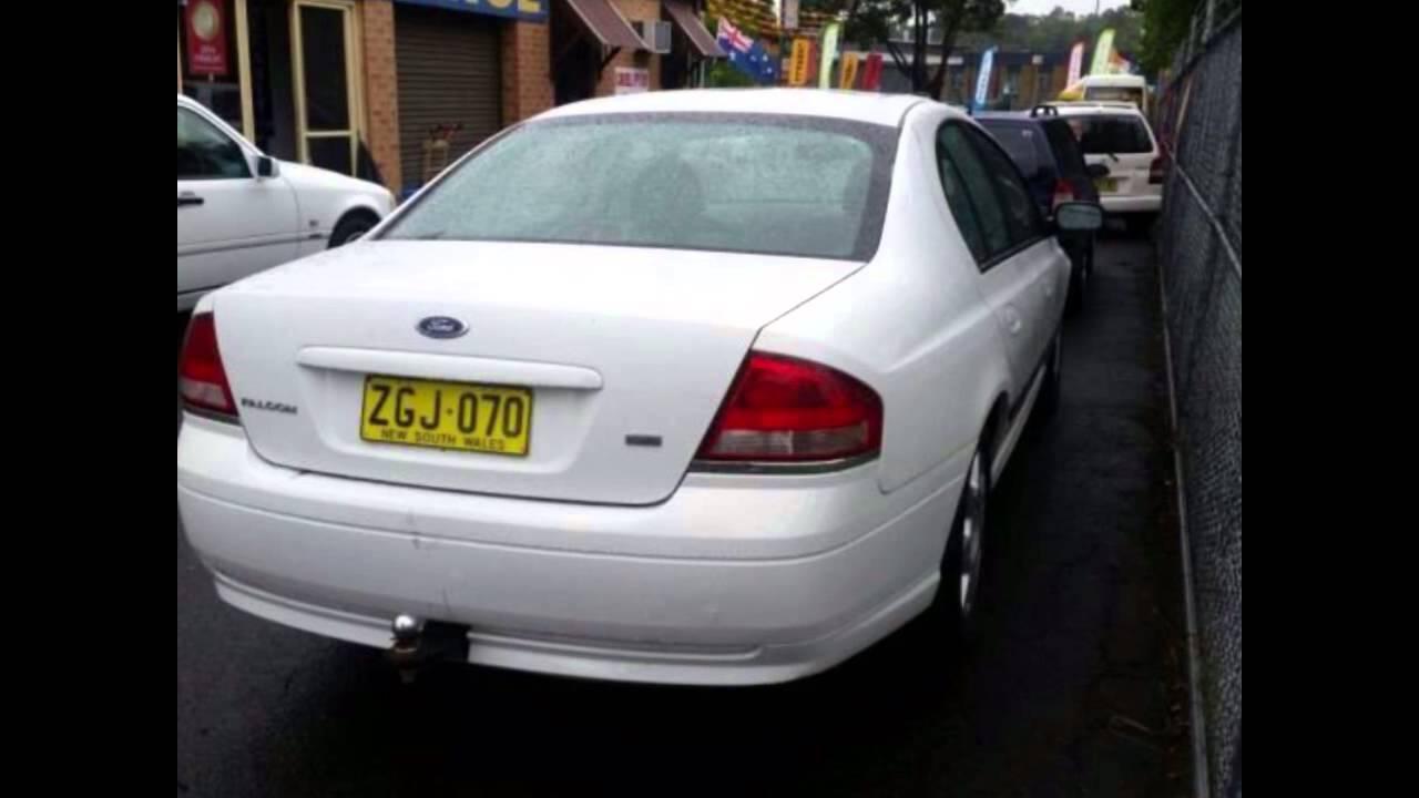 2004 Ford Falcon BA XT White 4 Speed Auto Seq Sportshift Sedan