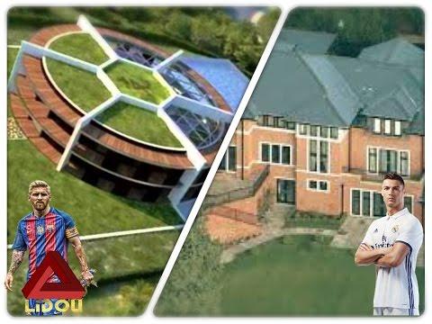 TOP 10  maisons des footballeurs les plus chères