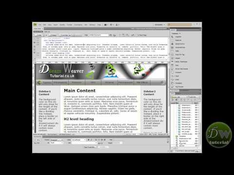 diet dreamweaver template tutorial part 4 insert navigation bar