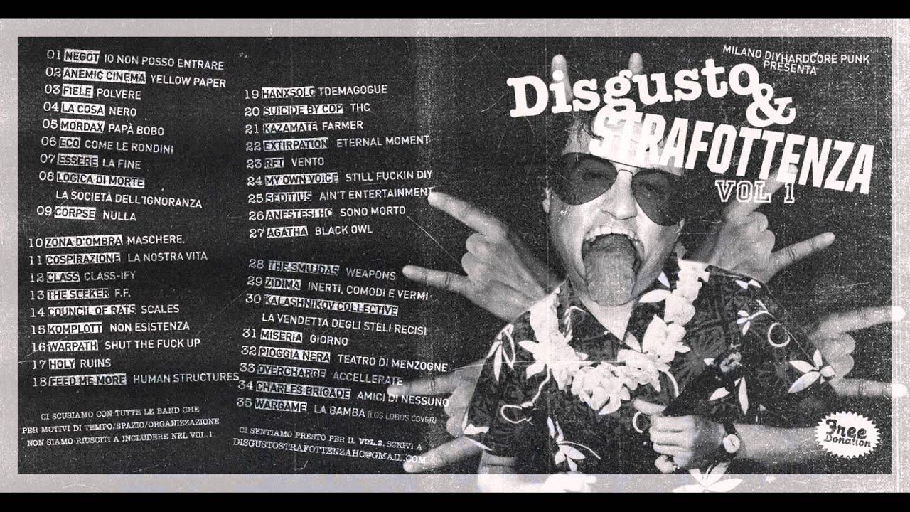 Steli Di Bamb.Disgusto Strafottenza Vol I Milano Diy Hardcore Punk