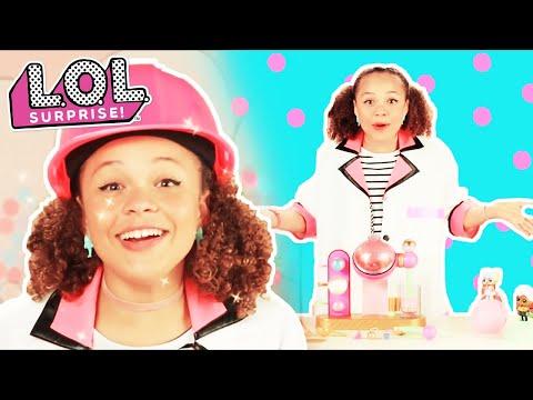 L.O.L. Surprise!   Fizz Factory   Baby Doll Surprise Toys   DIY Charm Fizz Ball Maker Product Demo