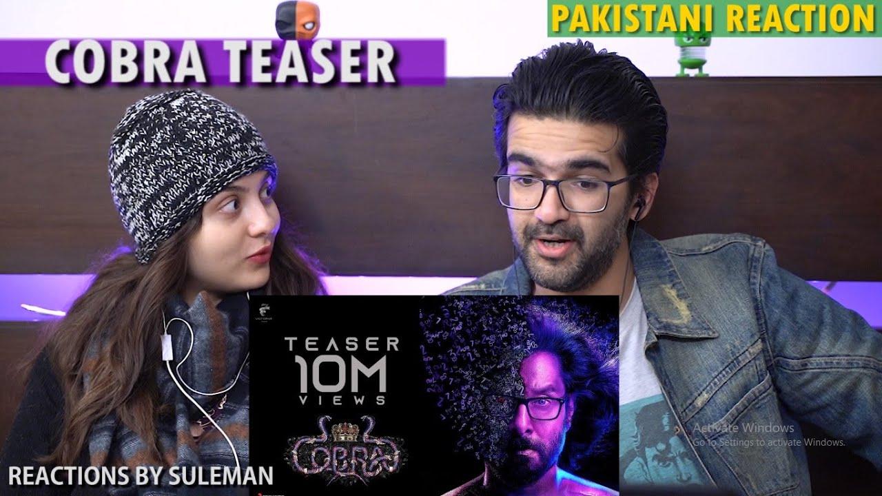 Pakistani Couple Reacts To Cobra Teaser | Chiyaan Vikram