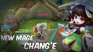 NEW HERO CHANG'E LEAKED GAMEPLAY   MOBILE LEGENDS  