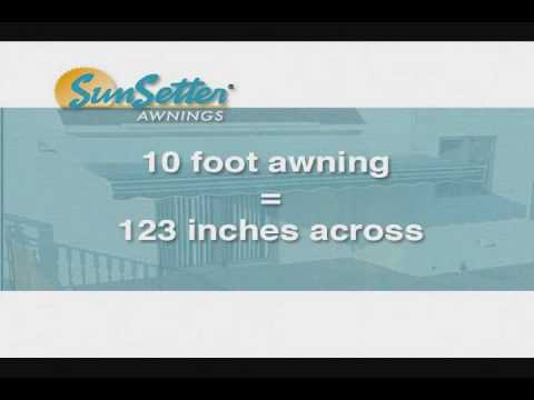 SunSetter Installation.wmv - YouTube