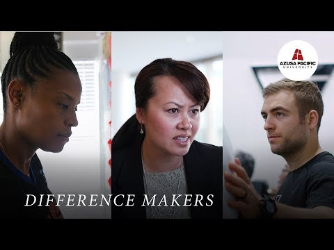 Azusa Pacific University TV Spot | Difference Maker