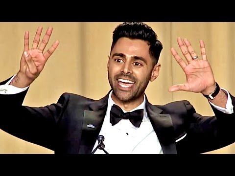 Trump Destroyed by Comedian Hasan Minhaj at 2017 White House