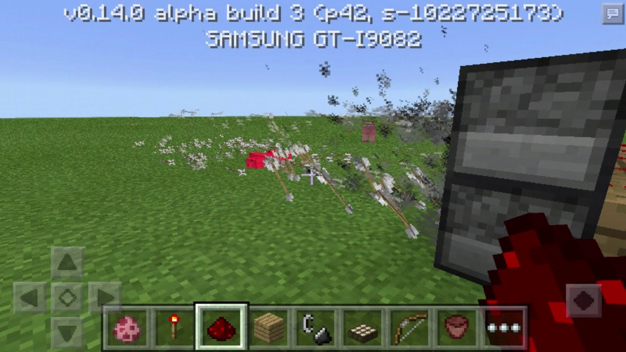 Fire arrow tnt cannon tutorial minecraft easy / automatic.