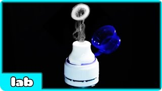 How To Make Smoke Rings Without Dry Ice Smoke Ring Launcher Science Experiment By HooplaKidzLab