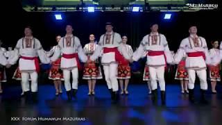 """XXX FORUM HUMANUM MAZURKAS -Narodowy Chór Ukrainy im. """"G.G.Wierowki""""- Taniec mołdawskich Ukraińców."""