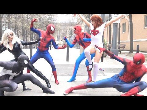 SPIDER-MAN, Batman, Deadpool, Justice League BLOOPERS